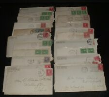 22 OLD antique 1910s original  LETTERS ADDRESSED TO DAVID STEVICK OF OHIO #13