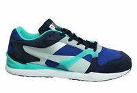 Puma Future XS-500 Blue Green Swift Low Lace Up Mens Trainers 356924 06