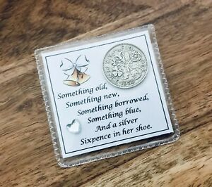 LUCKY SIXPENCE, BRIDE, BRIDAL, BRIDE TO BE, wedding gift, SHOE, PERSONALISED