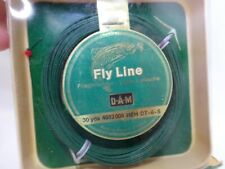NOS Vintage D.A.M Fly Line Made in Westen Germany