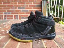 52faed8c49313f Nike Air Jordan XX2 22 PE BLK METALLIC VARSITY RED 317131 002 STEALTH SZ  10US