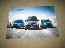 Mercedes Sprinter Prospekt brochure von 6/2013, 26 Seiten