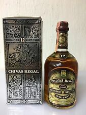 CHIVAS REGAL  12 years old  75cl 43% - 86 Proof Scotch Whisky Aberdeen Vintage 1