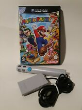 MARIO PARTY 7 OFFICIAL MICROPHONE NINTENDO GAMECUBE GAME, MANUAL PAL MINT