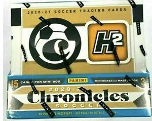 2020-21 PANINI CHRONICLES H2 HOBBY HYBRID SOCCER SEALED BOX - FREE S/H -