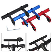 Lightweight Carbon Bike Bicycle Handle Bar Extender Mount Lamp Bracket Holder JS