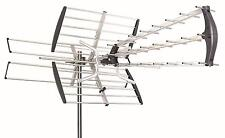 HDTV 1080p Outdoor Amplified Antenna Directiona Digital HD TV UHF VHF FM 180Mile