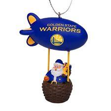 Golden State Warriors Christmas Tree Holiday Ornament New Team Logo Santa Blimp