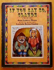 If You Say So, Claude by Joan Lowery Nixon 1980 HC DJ Review Copy FIRST PRINTING