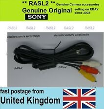 Genuine Original SONY AV Cable VMC-15FS Handycam Camcorder HXR-MC50 E DCR-DVD403