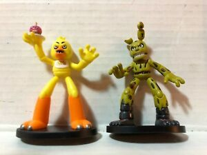 Five Nights at Freddys Chica and Spring Trap Hero World Vinyl Figure Set Funko