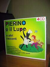 PIERINO E IL LUPO E ALTRI RACCONTI 4 CD NUOVO SIGILLATO