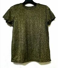 Zara Trafaluc Metallic Shirt