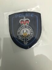 RARE UNISSUED ROYAL FALKLAND ISLANDS POLICE  PATCH