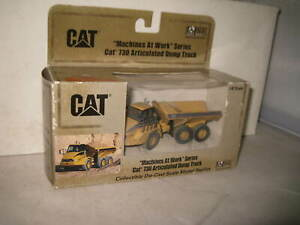 CAT 1/87 CATERPILLAR CAT 730 ARTICULATED TRUCK MACHINES AT WORK SERIES    #55184