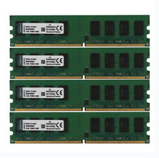 Kingston 8GB 4X 2GB PC2 6400U 2RX8 DDR2 800MHz Memory RAM DIMM Desktop 240pin