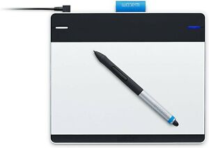 Wacom Intuos Manga Pen & Touchpad Graphics Tablet CTH480S Character Illustration