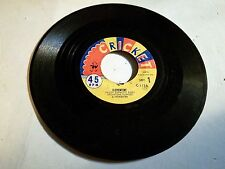 Smiley Burnette Clementine / Boss of the Town 45 RPM Cricket Records Rare