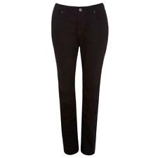Evans Black Pear Fit Straight Cut Jeans Plus Size 14 16 18 20 22 24 26 28 32
