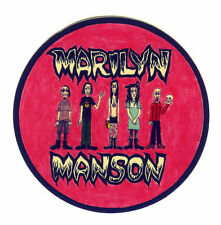 MARILYN MANSON AND THE SPOOKY KIDS 7.5cm guitar suitcase decal sticker #1711