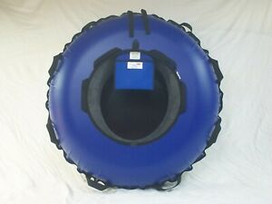 """NEW 44"""" TOWABLE, COMMERCIAL SNOW TUBE. Asst. Colors, Gloss bottom . Made in USA"""