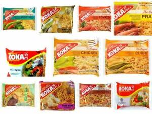 Koak Instant Noodles Oriental Flavours Curry Chicken Prawns Maggie Noodles