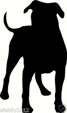 american bulldog, wall sticker decal, silhouette. Great Gift For Dog Lover w2a
