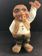 Vintage Nyform Troll Thumb-up Doll Figurine made in Norway