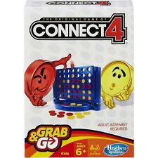 NEW Connect Four GRAB & GO Game of Conect For by Hasbro Gaming 4 Family fun
