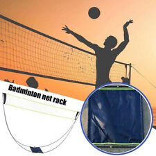 10FT Badminton Tennis Volleyball Net Set with Stand /Frame Carry Bag Beach Sport