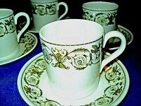 One Wedgwood demitasse cup and saucer Perugia Fine Bone China England  made