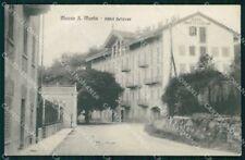 Biella Mosso Santa Maria Hotel Bellevue cartolina RB8940