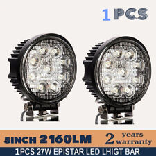 4 Inch 27W For Offroad Boat Car Tractor Truck SUV ATV Flood 12V LED Work Light