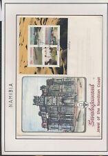 XC67714 Namibia landscape FDC used