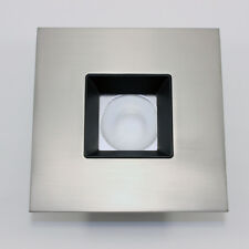 Halo Recessed TLS408SNBB 4-Inch LED Square Baffle Trim with Solite Regressed Len