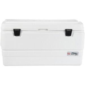 IGLOO Marine Ultra 94 qt. Hard Cooler - White