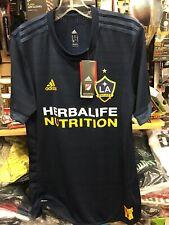 MLS LA Galaxy adidas 2018 Away Authentic Jersey - Size M