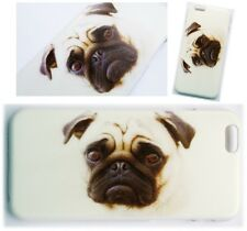 "Cute Pug Dog Case Fits Apple iPhone 6 6G 4.7"" Hard Back Pugs Puppy Animal Cover"