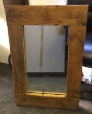 Handmade Pine Frame Rustic Decorative Mirrors
