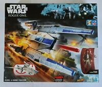 STAR WARS REBEL U-WING FIGHTER + CAPTAIN CASSIAN ANDOR + NERF ROGUE ONE NEW RARE
