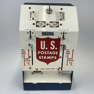 US 25 Cent Counter Postage Stamp Coin Operated Vending Dispensing Machine Wow