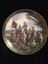"Bradford Exchange ""Robert E. Lee"" Collectors Plate-Gallant Men of the Civil War"