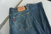 Levi's 514 Straight slim Fit Damen Jeans Hose W31 L32 stonewashed blau TOP ap2
