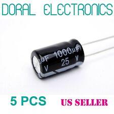 Capacitor 1000uF 10V Radio Spares Axial Aluminium Electrolytic Polarised