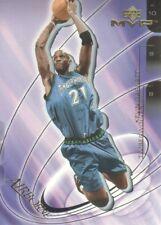 2001-02 Upper Deck MVP Airborne #A4 Kevin Garnett Minnesota Timberwolves