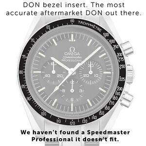 DON Dot Over Ninety Bezel Insert Omega Speedmaster Professional - Aftermarket
