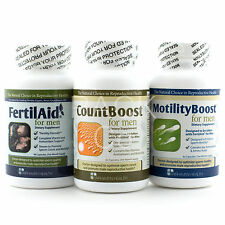 FertilAid For Men CountBoost MotilityBoost Male Fertility Fairhaven Health Combo