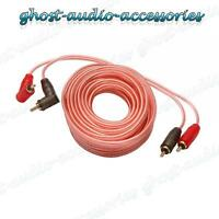 5m RCA / 5 meter Phono Lead / Cable Car AMP / Amplifier Shielded