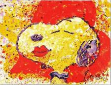 """Tom Everhart, Original Lithograph """"A Kiss is Just a Kiss"""" Signed and numbered"""