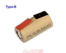 8Pcs Ni-MH Sub C 2200mAh battery to Power Tools Model Toy RC Car Boat w/tabs U/R